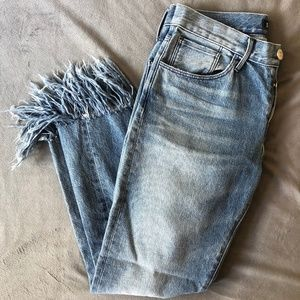 3x1 NYC Cute Fringy Jeans! Size 26